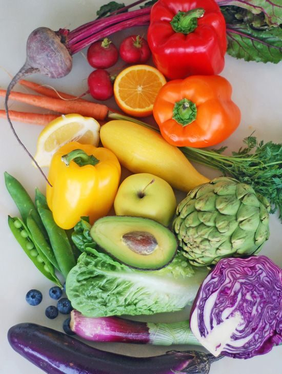 fruits and veggies to slow down aging
